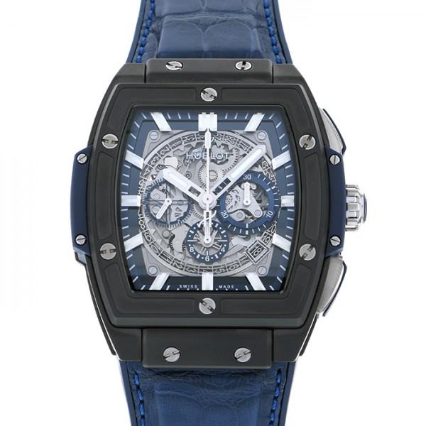 ウブロ HUBLOT スピリット・オブ・ビッグバン セラミック ブルー 601.CI.7170.LR グレー文字盤 メンズ 腕時計 【新品】