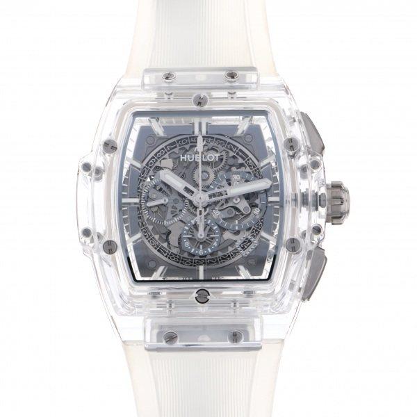 ウブロ HUBLOT スピリット・オブ・ビッグバン サファイア 世界限定250本 601.JX.0120.RT グレー文字盤 メンズ 腕時計 【新品】
