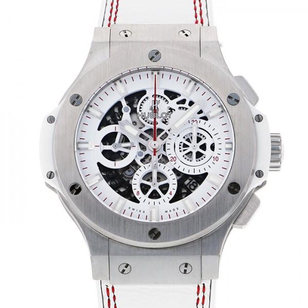 ウブロ HUBLOT ビッグバン アエロバン オールホワイト 311.SE.2113.VR.JDR14 ホワイト文字盤 メンズ 腕時計 【中古】