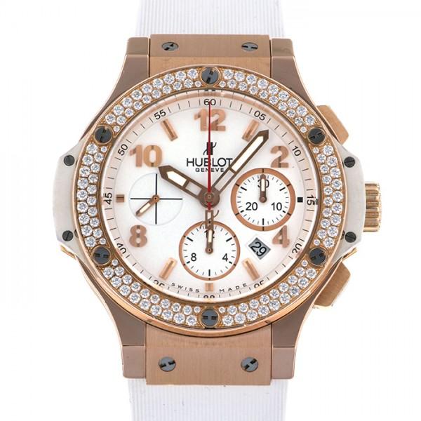 ウブロ HUBLOT ビッグバン 301.PE.230.RW.114 ホワイト文字盤 メンズ 腕時計 【中古】