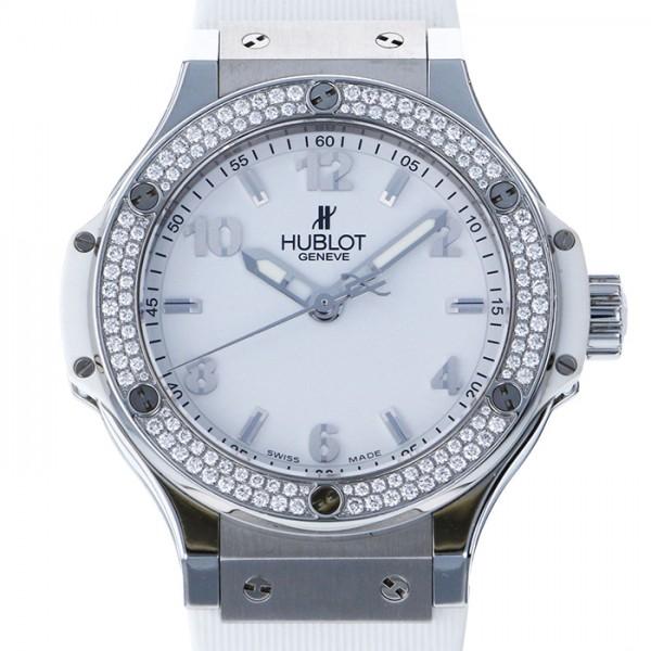 ウブロ HUBLOT ビッグバン 361.SE.2010.RW.1104 ホワイト文字盤 メンズ 腕時計 【中古】