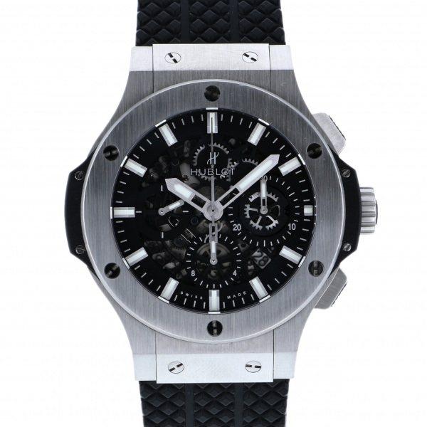 【全品 ポイント10倍 4/9~4/16】ウブロ HUBLOT ビッグバン アエロバン 311.SX.1170.GR ブラック文字盤 メンズ 腕時計 【中古】