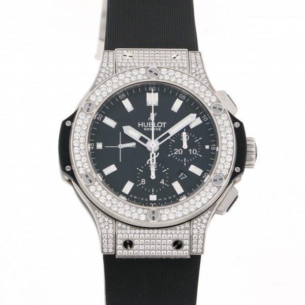 【全品 ポイント10倍 4/9~4/16】ウブロ HUBLOT ビッグバン エボリューション 301.SX.1170.RX.1704 ブラック文字盤 メンズ 腕時計 【中古】