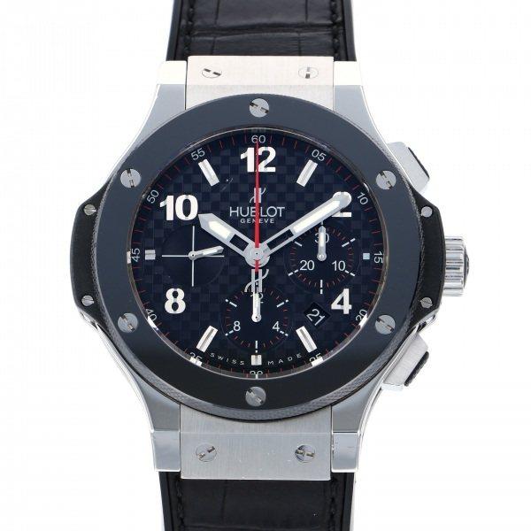 ウブロ HUBLOT ビッグバン スティール セラミック 301.SB.131.RX ブラック文字盤 メンズ 腕時計 【中古】