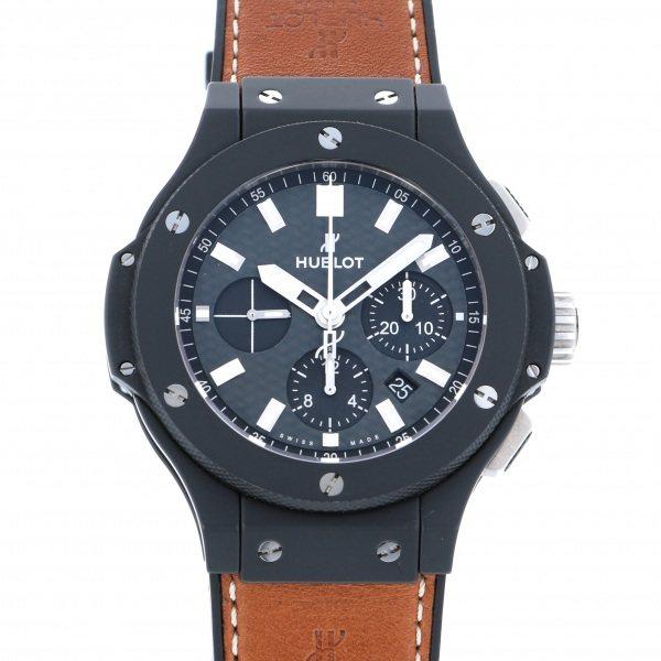 【全品 ポイント10倍 4/9~4/16】ウブロ HUBLOT ビッグバン エボリューション ブラックマジック 301.CL.1770.GR ブラック文字盤 メンズ 腕時計 【中古】