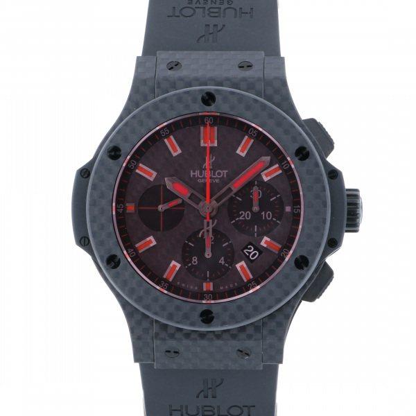 ウブロ HUBLOT ビッグバン レッドマジック カーボン 301.QX.1734.RX ブラック文字盤 メンズ 腕時計 【新品】