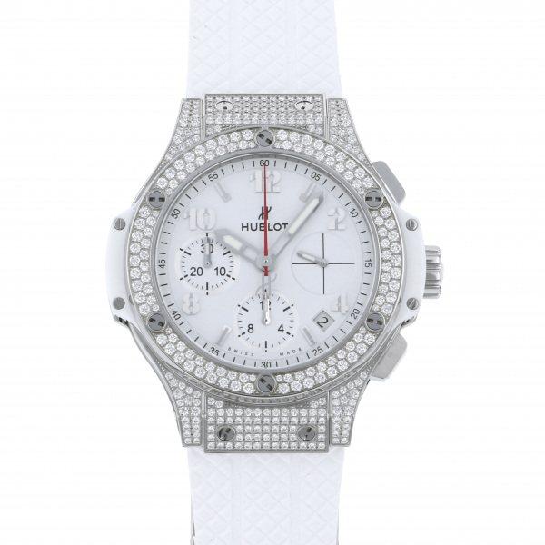 ウブロ HUBLOT ビッグバン アスペン パヴェ 342.SE.230.RW.174 ホワイト文字盤 メンズ 腕時計 【新品】