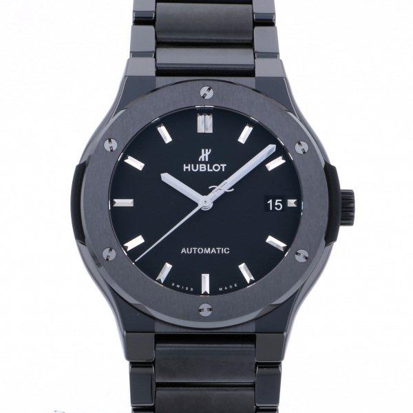 ウブロ HUBLOT クラシックフュージョン ブラックマジック ブレスレット 510.CM1170.CM ブラック文字盤 メンズ 腕時計 【新品】