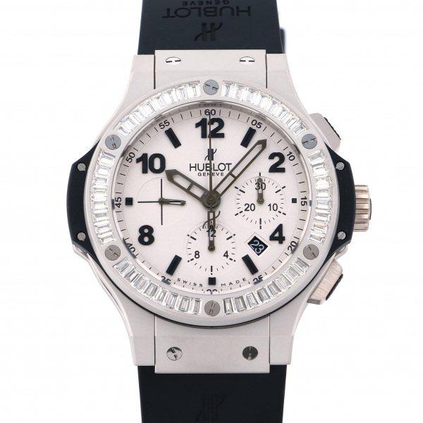 ウブロ HUBLOT ビッグバン プラチナマット 301.TI.450.RX.194 シルバー文字盤 メンズ 腕時計 【中古】