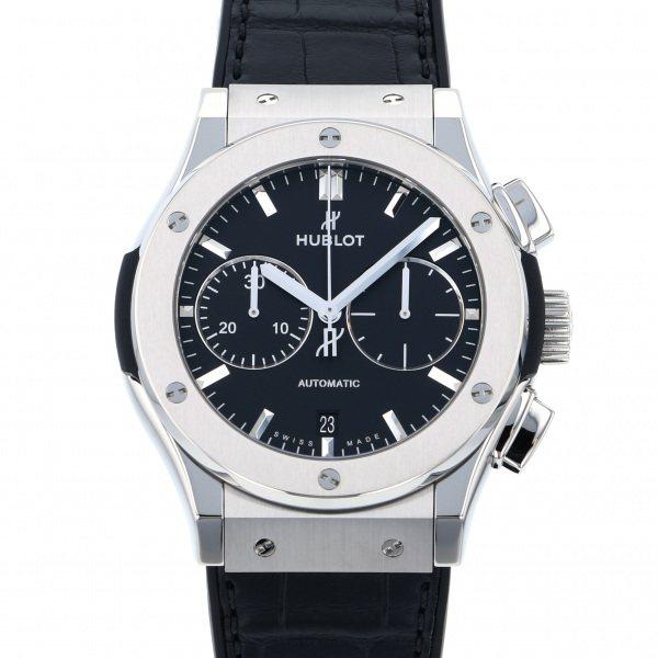 ウブロ HUBLOT クラシックフュージョン クロノグラフ チタニウム 521.NX.1171.LR ブラック文字盤 メンズ 腕時計 【新品】