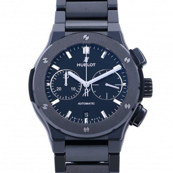 ウブロ HUBLOT クラシックフュージョン クロノグラフ ブラックマジック ブレスレット 520.CM.1170.CM ブラック文字盤 メンズ 腕時計 【新品】
