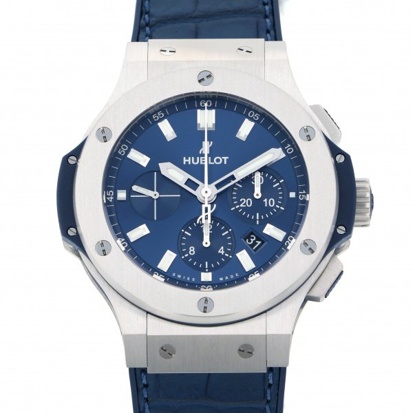 ウブロ HUBLOT ビッグバン スチール ブルー 301.SX.7170.LR ブルー文字盤 メンズ 腕時計 【新品】