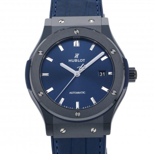 ウブロ HUBLOT クラシックフュージョン セラミック ブルー 542.CM.7170.LR ブルー文字盤 メンズ 腕時計 【新品】