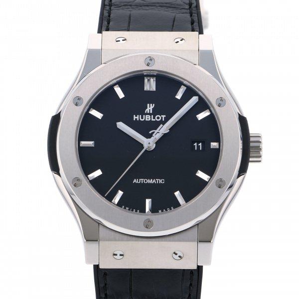 ウブロ HUBLOT クラシックフュージョン レーシング チタニウム 542.NX.7071.LR グレー文字盤 メンズ 腕時計 【新品】