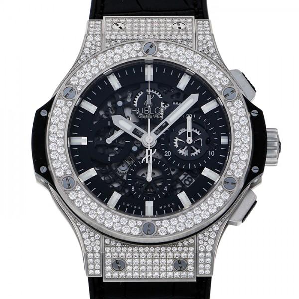 ウブロ HUBLOT ビッグバン アエロバン 311.SX.1170.GR.1704 ブラック文字盤 メンズ 腕時計 【新品】