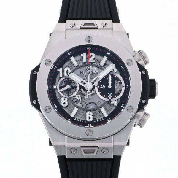 ウブロ HUBLOT ビッグバン ウニコ チタニウム 411.NX.1170.RX グレー文字盤 メンズ 腕時計 【新品】