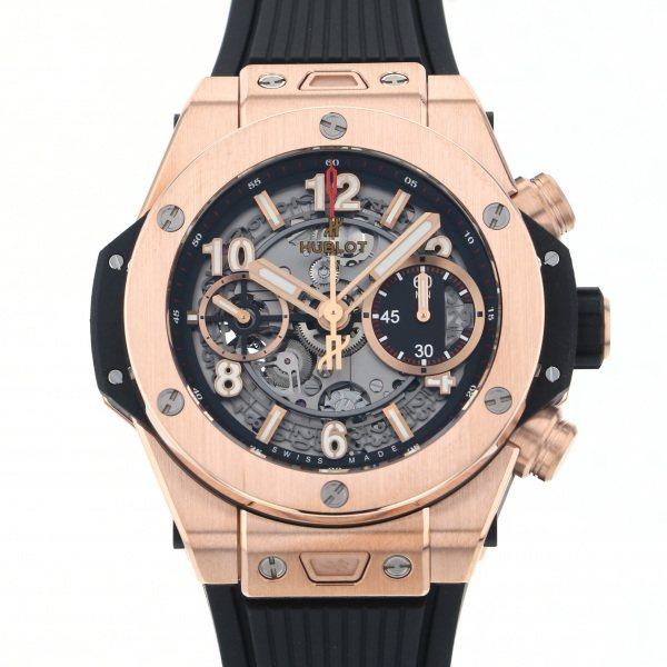 ウブロ HUBLOT ビッグバン ウニコ キングゴールド 441.OX.1180.RX シルバー文字盤 メンズ 腕時計 【新品】