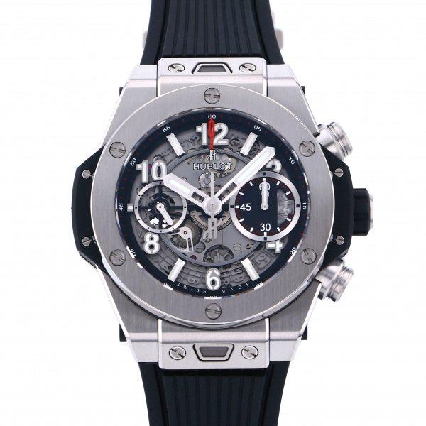 ウブロ HUBLOT ビッグバン ウニコ チタニウム 441.NX.1170.RX グレー文字盤 メンズ 腕時計 【新品】