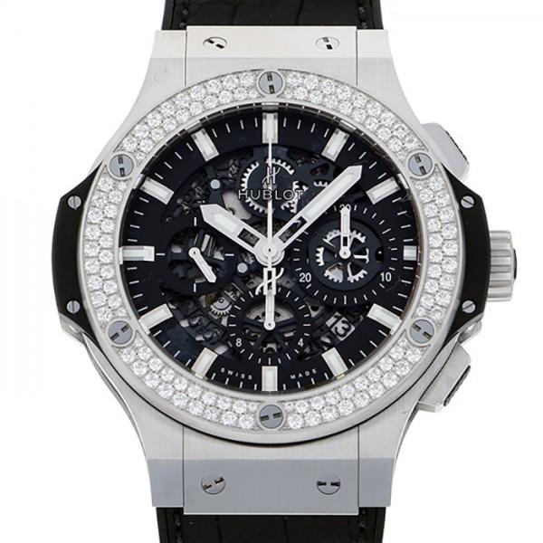ウブロ HUBLOT ビッグバン アエロバン 311.SX.1170.GR.1104 ブラック文字盤 メンズ 腕時計 【新品】