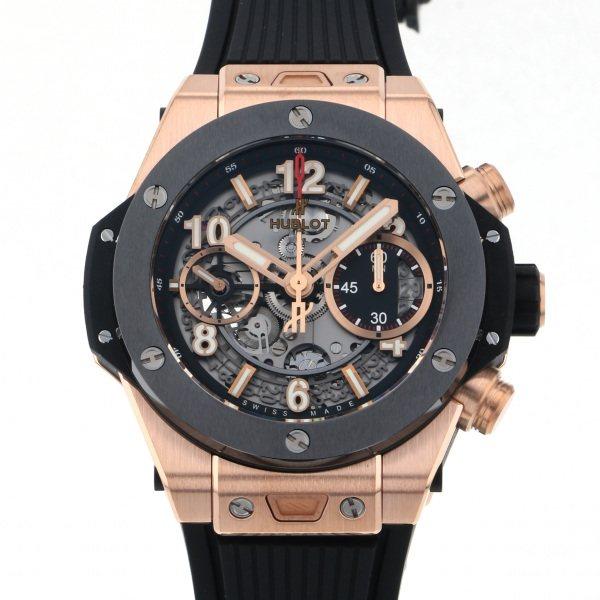 ウブロ HUBLOT ビッグバン ウニコ キングゴールド セラミック 441.OM.1180.RX グレー文字盤 メンズ 腕時計 【新品】