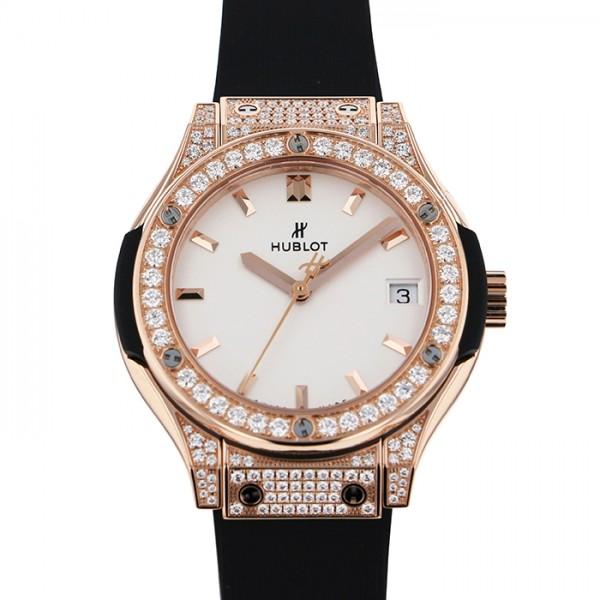 ウブロ HUBLOT クラシックフュージョン 581OX2611RX1704 ダイヤモンド文字盤 メンズ 腕時計 【新品】