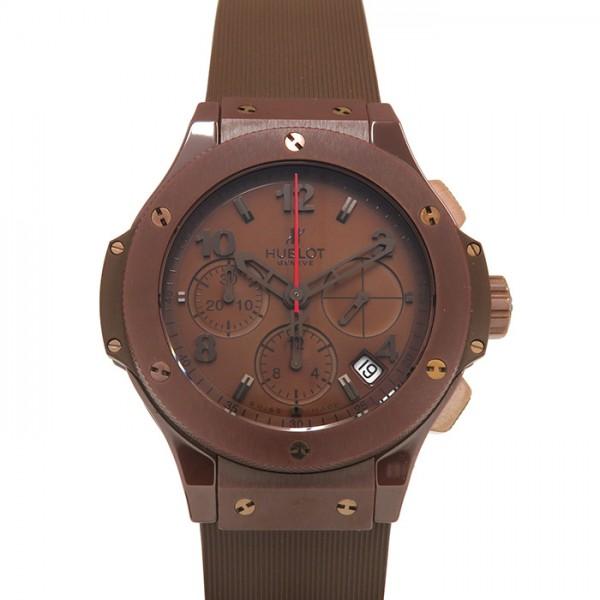 ウブロ HUBLOT ビッグバン オールチョコレート 341.CC.3190.RC チョコレート文字盤 メンズ 腕時計 【新品】