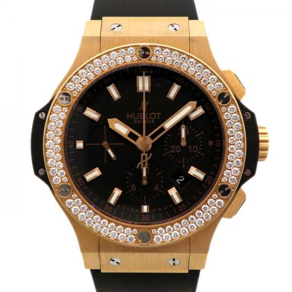 ウブロ HUBLOT ビッグバン エボリューション ベゼルダイヤ 301.PX.1180.RX.1104 ブラック文字盤 メンズ 腕時計 【新品】