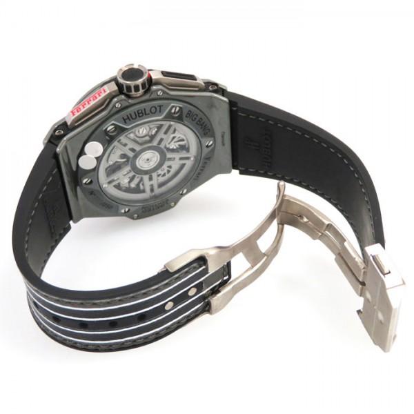 ウブロ HUBLOT ビッグバン フェラーリ スペチアーレグレーセラミック 世界限定250本 401.FX.1123.VR ブラック文字盤 メンズ 腕時計 【新品】
