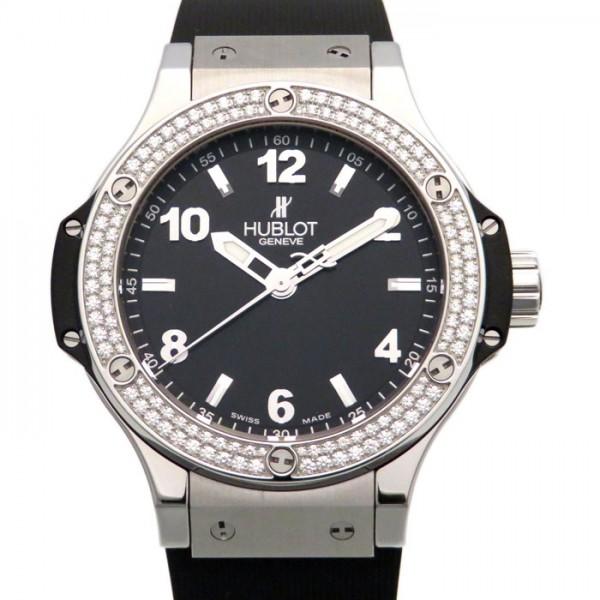 ウブロ HUBLOT ビッグバン スティール 361.SX.1270.RX.1104 ブラック文字盤 レディース 腕時計 【新品】