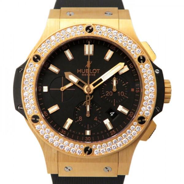 ウブロ HUBLOT ビッグバン エヴォリューション ベゼルダイヤ 301.PX.1180.RX.1104 ブラック文字盤 メンズ 腕時計 【新品】