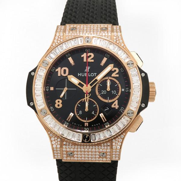 ウブロ HUBLOT ビッグバン ゴールド ダイヤモンド 301.PX.130.RX.094 ブラック文字盤 メンズ 腕時計 【新品】