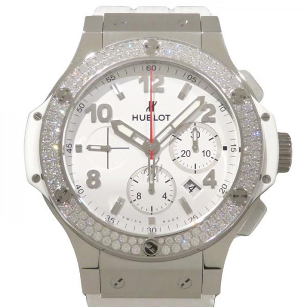 ウブロ HUBLOT ビッグバン サンモリッツ ベゼルダイヤ 301.SE.230.RW.114 ホワイト文字盤 メンズ 腕時計 【新品】