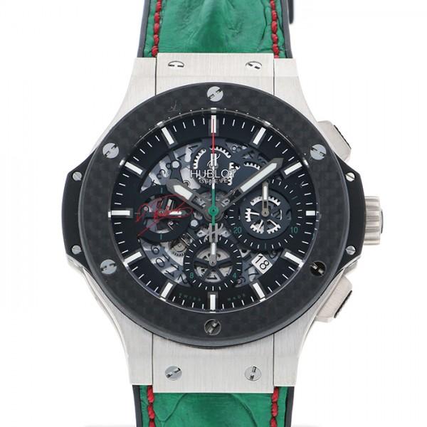 ウブロ HUBLOT ビッグバン アエロバン スクーデリア・ロドリゲス 世界25本限定 311.TQ.1129.HR.MEX11 ブラック文字盤 メンズ 腕時計 【新品】