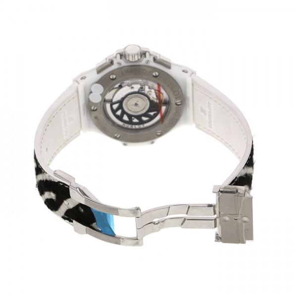 ウブロ HUBLOT ビッグバン ホワイトゼブラバン 341.HW.7517.VR.19 ブラック文字盤 レディース 腕時計 【新品】