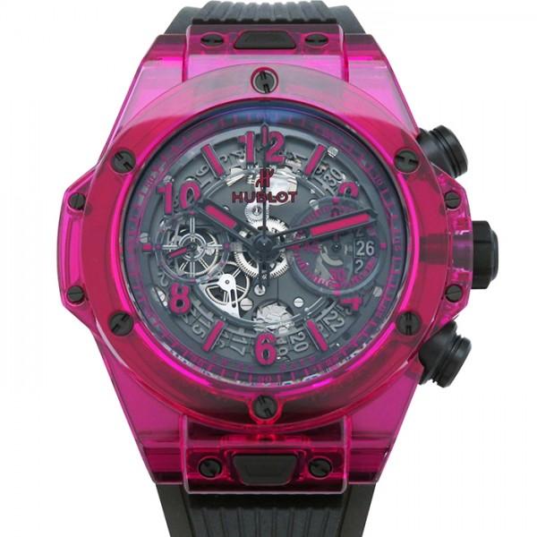 ウブロ HUBLOT ビッグバン ウニコ レッドサファイア 世界限定250本 411.JR.4901.RT ブラック文字盤 メンズ 腕時計 【新品】