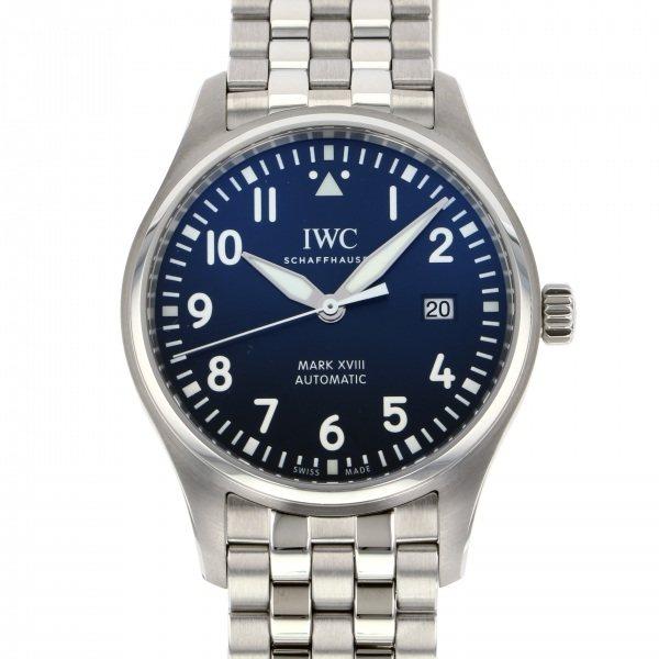 【爆売り!】 IWC パイロットウォッチ マーク18 プティプランス IW327016 ブルー文字盤 新品 腕時計 マーク18 IWC IW327016 メンズ, 喜茂別町:21b002aa --- promilahcn.com