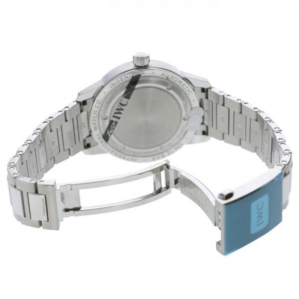 【全品 ポイント10倍 16日1:59まで 要エントリー】IWC IWC インヂュニア オートマティック IW357002 ブラック文字盤 メンズ 腕時計 【新品】