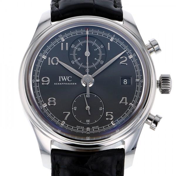 IWC IWC ポルトギーゼ クロノグラフ クラシック IW390404 グレー文字盤 メンズ 腕時計 【新品】