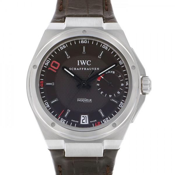 IWC IWC インヂュニア ビッグ インヂュニア 7デイズ ジネディーヌ・ジダン 世界限定500本 IW500508 ブラウン文字盤 メンズ 腕時計 【新品】