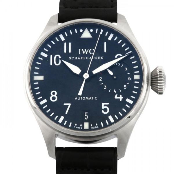 【日本産】 IWC パイロットウォッチ ビッグパイロットウォッチ 7デイズ IW500901 ブラック文字盤 新品 腕時計 メンズ, ハンドルキング 9566ea2b