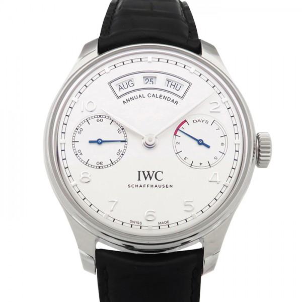 優れた品質 IWC ポルトギーゼ アニュアル カレンダー IW503501 シルバー文字盤 新品 IWC 腕時計 新品 IW503501 メンズ, パーティワールド:da990c24 --- online-cv.site.bebekdezenfektan.com