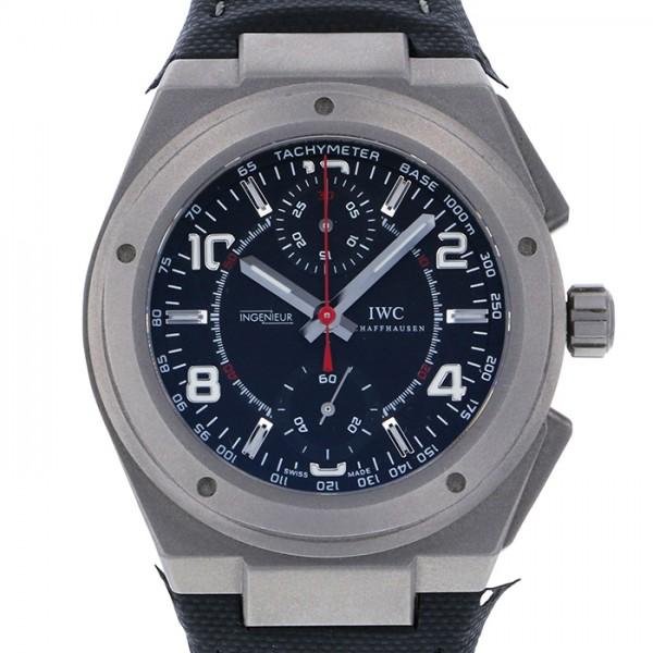【期間限定ポイント5倍 5/5~5/31】 IWC IWC インヂュニア クロノグラフAMG IW372504 ブラック文字盤 メンズ 腕時計 【新古品】