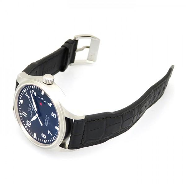 【全品 ポイント10倍 16日1:59まで 要エントリー】IWC IWC パイロットウォッチ マークXVII IW326501 ブラック文字盤 メンズ 腕時計 【新品】