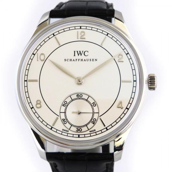 IWC IWC ポルトギーゼ ハンドワインド ヴィンテージ 8デイズ 世界限定500本 IW544505 ホワイト文字盤 メンズ 腕時計 【新品】