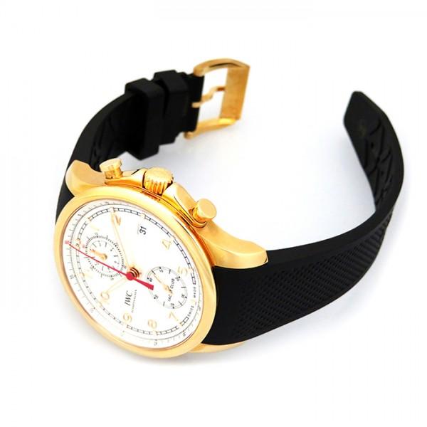 【全品 ポイント10倍 16日1:59まで 要エントリー】IWC IWC ポルトギーゼ ヨットクラブ クロノグラフ IW390501 シルバー文字盤 メンズ 腕時計 【新品】