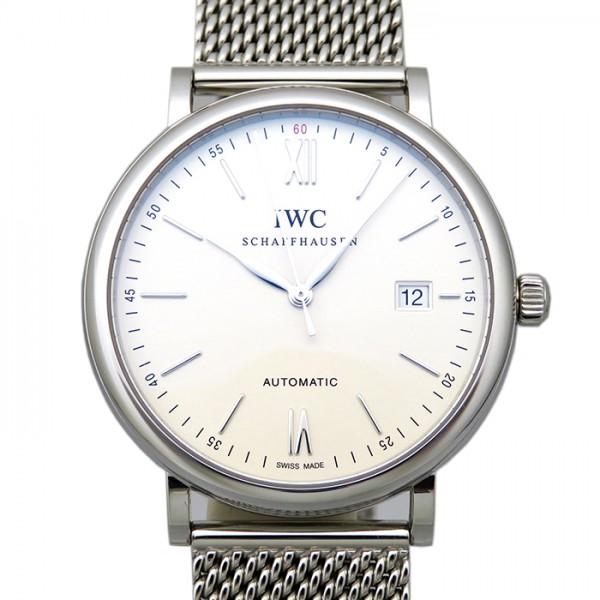 【期間限定ポイント5倍 5/5~5/31】 IWC IWC ポートフィノ IW356505 シルバー文字盤 メンズ 腕時計 【新品】
