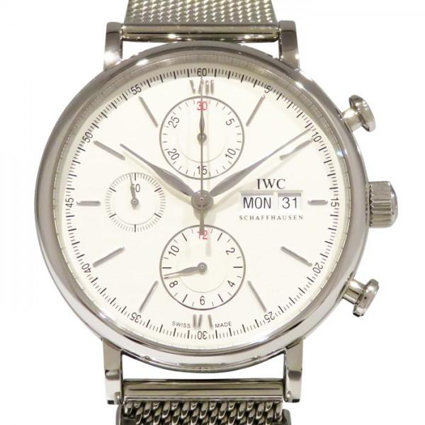 【期間限定ポイント5倍 5/5~5/31】 IWC IWC ポートフィノ クロノグラフ IW391015 シルバー文字盤 メンズ 腕時計 【新品】