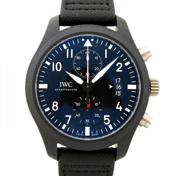 IWC IWC パイロットウォッチ クロノ トップガン IW388007 ブラック文字盤 メンズ 腕時計 【新品】