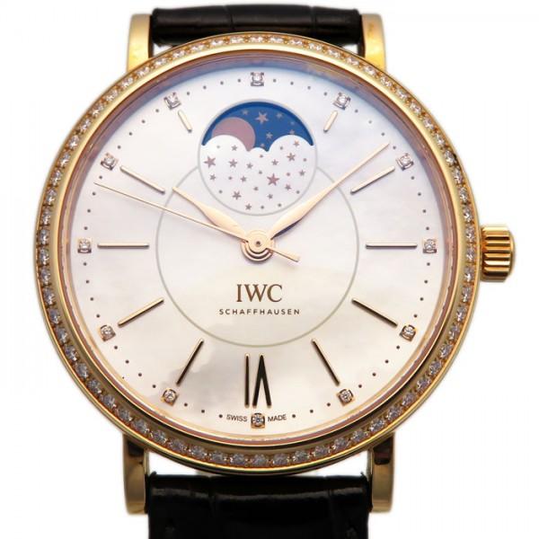 数量限定価格!! IWC ポートフィノ オートマティック ムーンフェイズ ポートフィノ ベゼルダイヤ IWC 腕時計 IW459002 ホワイト文字盤 新品 腕時計 メンズ, ジュエリーハッセキ:66590280 --- agrohub.redlab.site