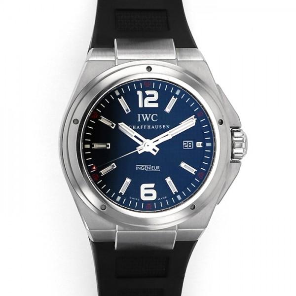 【期間限定ポイント5倍 5/5~5/31】 IWC IWC インヂュニア オートマティック ミッションアース IW323601 ブラック文字盤 メンズ 腕時計 【中古】